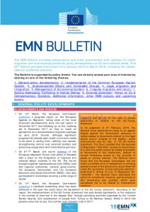 thumbnail of 22nd EMN Bulletin, January – March 2018