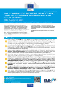 thumbnail of EMN Flash data management in asylum procedure